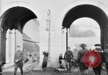 Image of U.S. soldiers and French people in World War I Brest France, 1918, second 2 stock footage video 65675070086