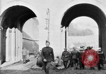 Image of U.S. soldiers and French people in World War I Brest France, 1918, second 5 stock footage video 65675070086