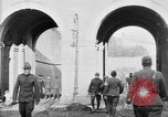 Image of U.S. soldiers and French people in World War I Brest France, 1918, second 12 stock footage video 65675070086