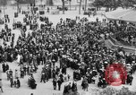 Image of American servicemen watch concert at Place Wilson Brest France, 1918, second 2 stock footage video 65675070091
