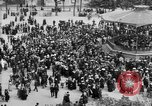 Image of American servicemen watch concert at Place Wilson Brest France, 1918, second 4 stock footage video 65675070091