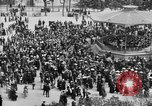 Image of American servicemen watch concert at Place Wilson Brest France, 1918, second 6 stock footage video 65675070091