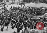 Image of American servicemen watch concert at Place Wilson Brest France, 1918, second 7 stock footage video 65675070091