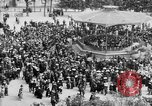 Image of American servicemen watch concert at Place Wilson Brest France, 1918, second 9 stock footage video 65675070091