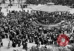 Image of American servicemen watch concert at Place Wilson Brest France, 1918, second 10 stock footage video 65675070091