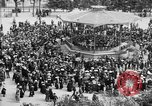 Image of American servicemen watch concert at Place Wilson Brest France, 1918, second 11 stock footage video 65675070091