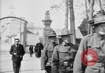 Image of American soldier's funeral at Kerfautras cemetery Brest France, 1918, second 8 stock footage video 65675070094