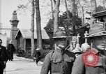 Image of American soldier's funeral at Kerfautras cemetery Brest France, 1918, second 10 stock footage video 65675070094