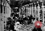 Image of graveyard Brest France, 1918, second 1 stock footage video 65675070095