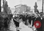 Image of soldier's funeral Brest France, 1918, second 2 stock footage video 65675070096