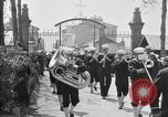 Image of soldier's funeral Brest France, 1918, second 3 stock footage video 65675070096
