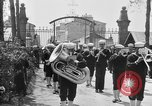 Image of soldier's funeral Brest France, 1918, second 4 stock footage video 65675070096