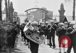 Image of soldier's funeral Brest France, 1918, second 5 stock footage video 65675070096