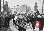 Image of soldier's funeral Brest France, 1918, second 7 stock footage video 65675070096