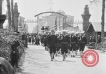 Image of soldier's funeral Brest France, 1918, second 8 stock footage video 65675070096