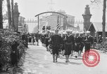Image of soldier's funeral Brest France, 1918, second 9 stock footage video 65675070096