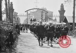 Image of soldier's funeral Brest France, 1918, second 10 stock footage video 65675070096