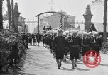 Image of soldier's funeral Brest France, 1918, second 11 stock footage video 65675070096