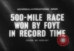 Image of International 500-Mile Sweepstakes Race Indianapolis Indiana USA, 1961, second 1 stock footage video 65675070099