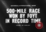 Image of International 500-Mile Sweepstakes Race Indianapolis Indiana USA, 1961, second 2 stock footage video 65675070099