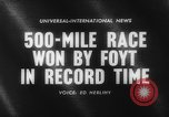 Image of International 500-Mile Sweepstakes Race Indianapolis Indiana USA, 1961, second 5 stock footage video 65675070099