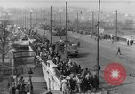 Image of Soviet tanks Budapest Hungary, 1956, second 9 stock footage video 65675070127