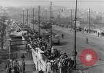 Image of Soviet tanks Budapest Hungary, 1956, second 10 stock footage video 65675070127