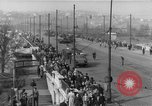 Image of Soviet tanks Budapest Hungary, 1956, second 11 stock footage video 65675070127