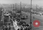 Image of Soviet tanks Budapest Hungary, 1956, second 12 stock footage video 65675070127