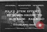 Image of members of Bonus Army Cleveland Ohio USA, 1932, second 1 stock footage video 65675070131