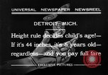 Image of height rule Detroit Michigan USA, 1932, second 3 stock footage video 65675070135