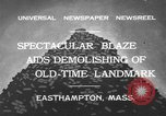 Image of ancient tower Easthampton Massachusetts USA, 1932, second 2 stock footage video 65675070136