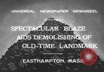 Image of ancient tower Easthampton Massachusetts USA, 1932, second 4 stock footage video 65675070136