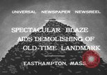 Image of ancient tower Easthampton Massachusetts USA, 1932, second 5 stock footage video 65675070136