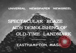 Image of ancient tower Easthampton Massachusetts USA, 1932, second 11 stock footage video 65675070136