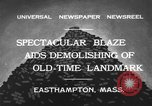 Image of ancient tower Easthampton Massachusetts USA, 1932, second 12 stock footage video 65675070136