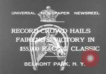 Image of horse Faireno New York United States USA, 1932, second 11 stock footage video 65675070137