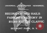 Image of horse Faireno New York United States USA, 1932, second 12 stock footage video 65675070137
