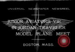 Image of model airplanes Boston Massachusetts USA, 1932, second 1 stock footage video 65675070138