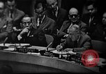 Image of Adlai Stevenson during the Cuban Missile Crisis New York United States USA, 1962, second 22 stock footage video 65675070175