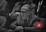 Image of Adlai Stevenson during the Cuban Missile Crisis New York United States USA, 1962, second 27 stock footage video 65675070175