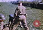 Image of United States mortar team Germany, 1945, second 1 stock footage video 65675070185