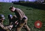 Image of United States mortar team Germany, 1945, second 2 stock footage video 65675070185