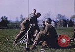 Image of United States mortar team Germany, 1945, second 9 stock footage video 65675070185