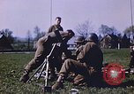 Image of United States mortar team Germany, 1945, second 10 stock footage video 65675070185