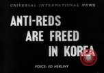 Image of Korean prisoners Seoul Korea, 1954, second 1 stock footage video 65675070187