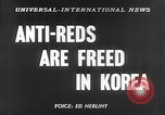 Image of Korean prisoners Seoul Korea, 1954, second 5 stock footage video 65675070187