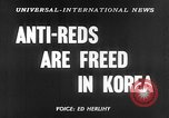 Image of Korean prisoners Seoul Korea, 1954, second 6 stock footage video 65675070187