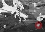 Image of F4D Skyray aircraft Atlantic Ocean, 1954, second 7 stock footage video 65675070188