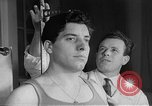 Image of boxer Milo Malagoli Italy, 1954, second 12 stock footage video 65675070192